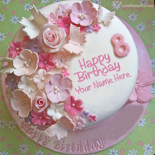 Birthday Wishes Cake With Name  17 Best images about Birthday Cakes With Name on Pinterest