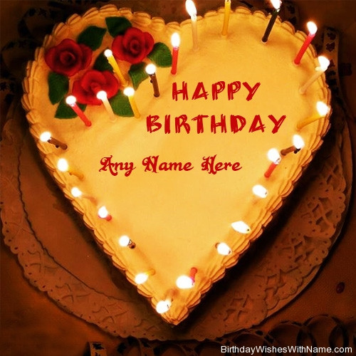Birthday Wishes Cake With Name  Happy Birthday Wishes Cake & Greeting Cards With Name Edit