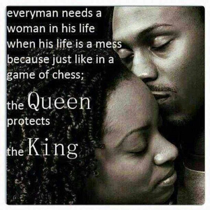 Black Marriage Quotes  e queen protects the king HoMe SWeeT HoMe
