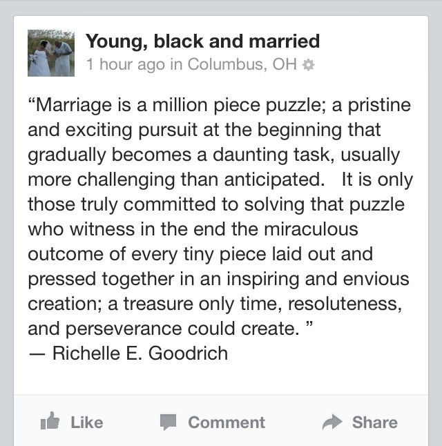 Black Marriage Quotes  25 best Young marriage quotes on Pinterest