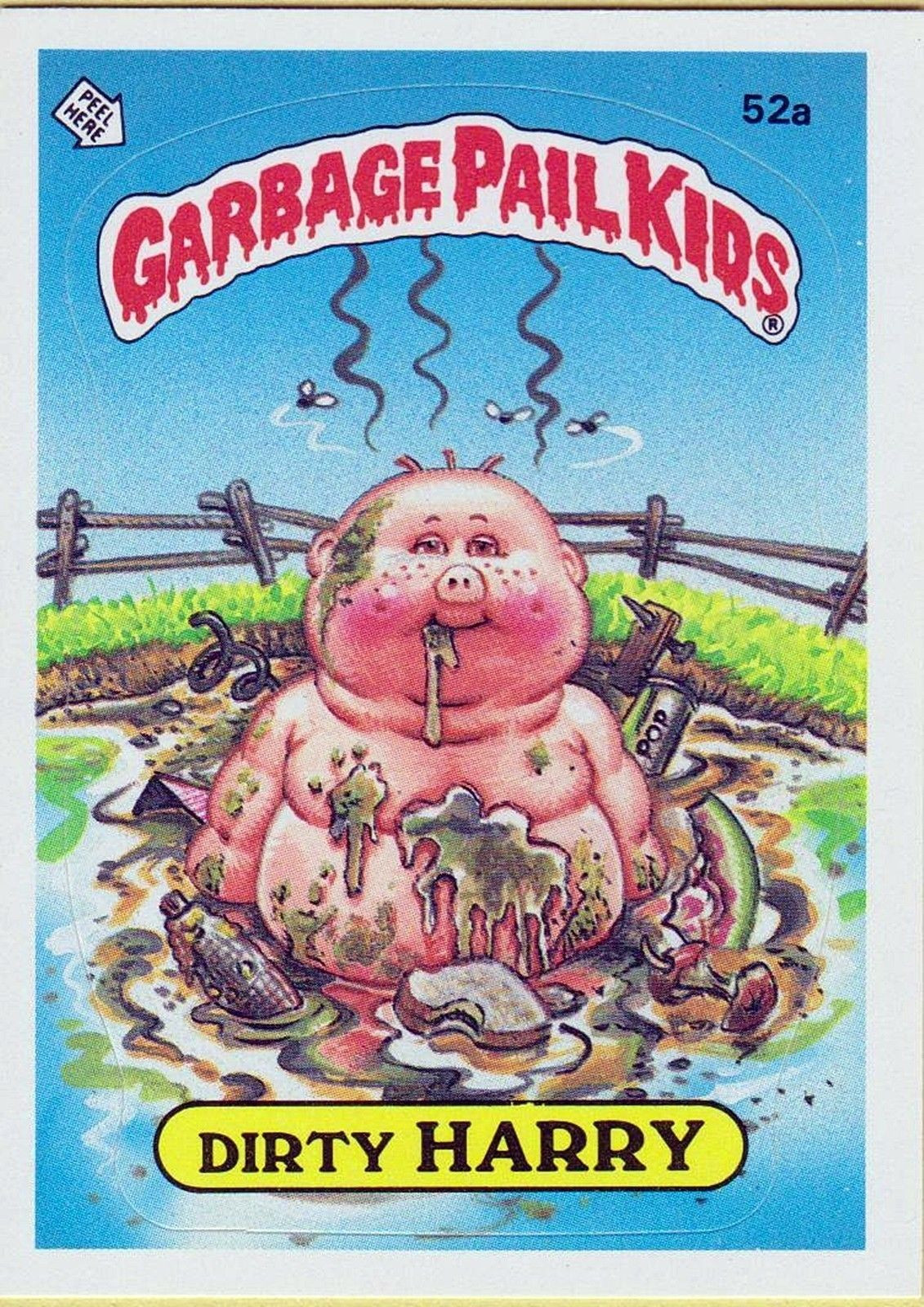 Boys Coloring Pages Garbage Pale Kids  Garbage Pail Kids I had a HUGE collection of these
