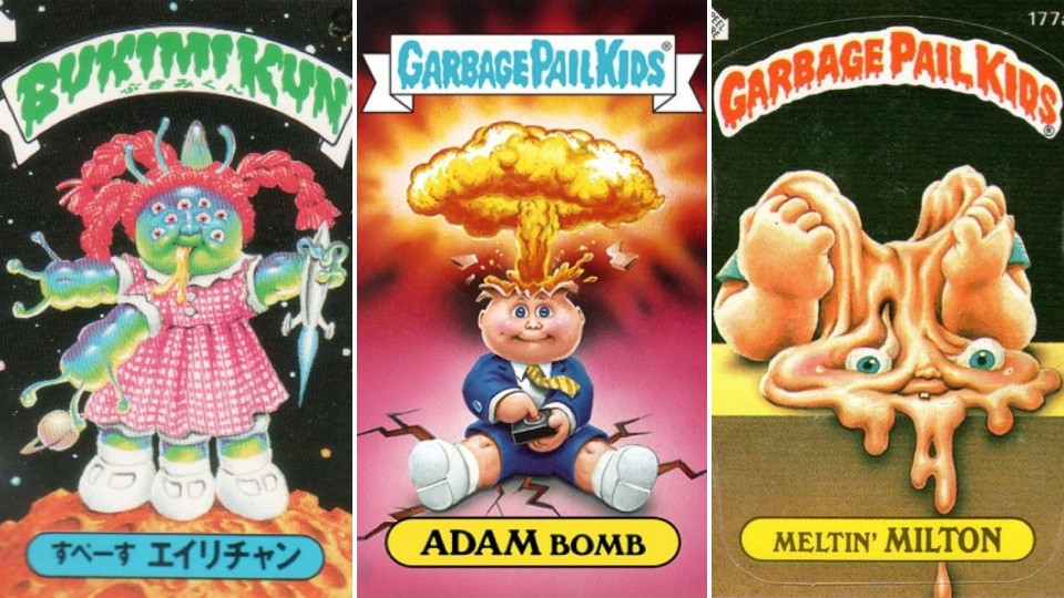 Boys Coloring Pages Garbage Pale Kids  Rarest and Most Expensive Garbage Pail Kids Cards Ever Made