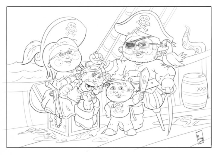 Boys Coloring Pages Garbage Pale Kids  Garbage Pail Kids Free Coloring Pages