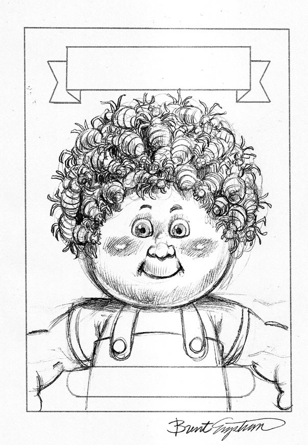 Boys Coloring Pages Garbage Pale Kids  BRENT ENGSTROM S BLOG Brand New Series 1 Garbage Pail