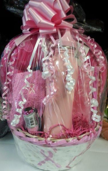 Breast Cancer Gift Basket Ideas  Gift Basket Breast Cancer Awareness Basket