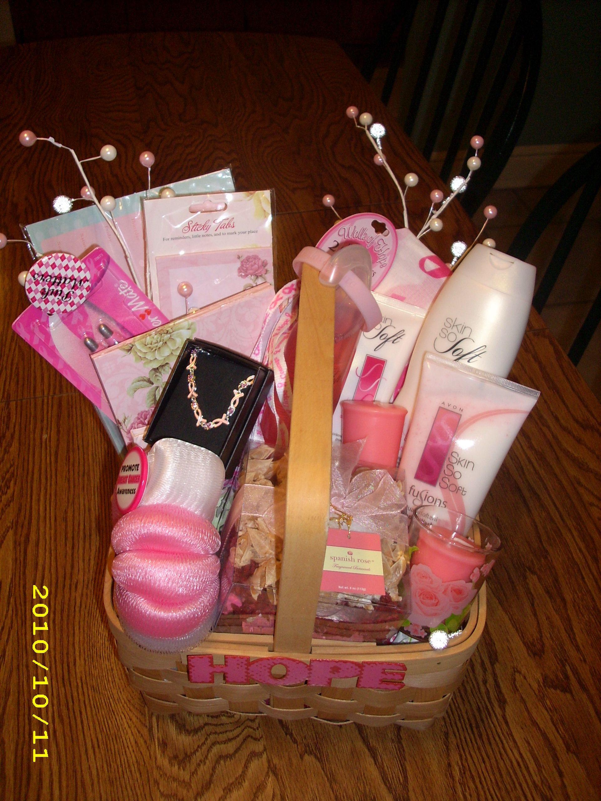 Breast Cancer Gift Basket Ideas  Breast Cancer Raffle Basket …