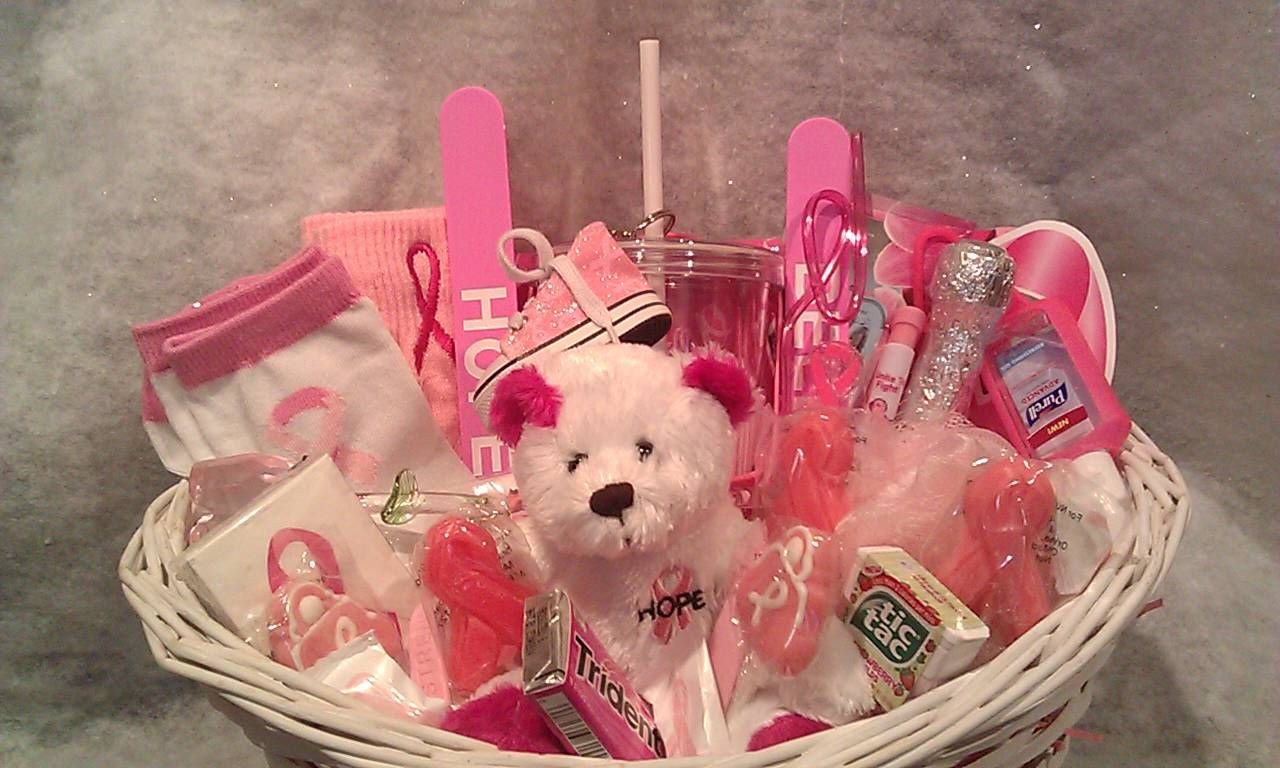 Breast Cancer Gift Basket Ideas  Connie s Creations