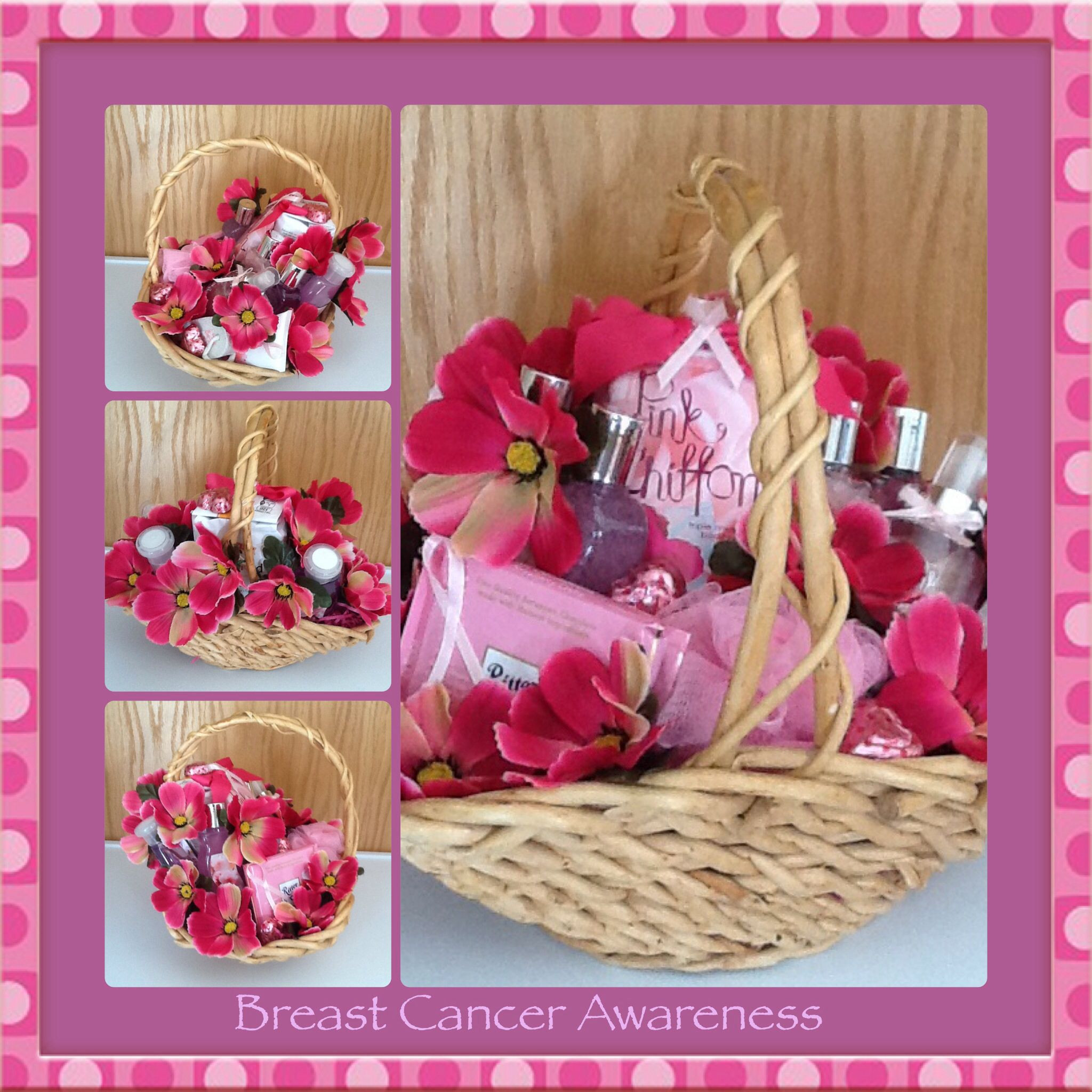 Breast Cancer Gift Basket Ideas  Breast Cancer Awareness Gift Basket by Gifted Occakesions