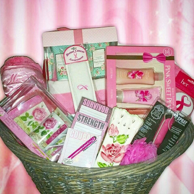 Breast Cancer Gift Basket Ideas  150 Best images about Gift Baskets on Pinterest