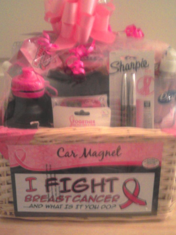 Breast Cancer Gift Basket Ideas  Breast Cancer Basket Fundraiser Raffle Ideas