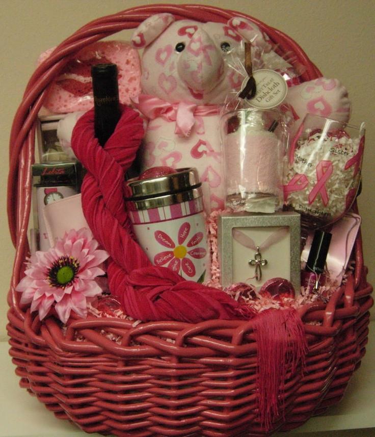 Breast Cancer Gift Basket Ideas  158 best breast cancer benefit images on Pinterest