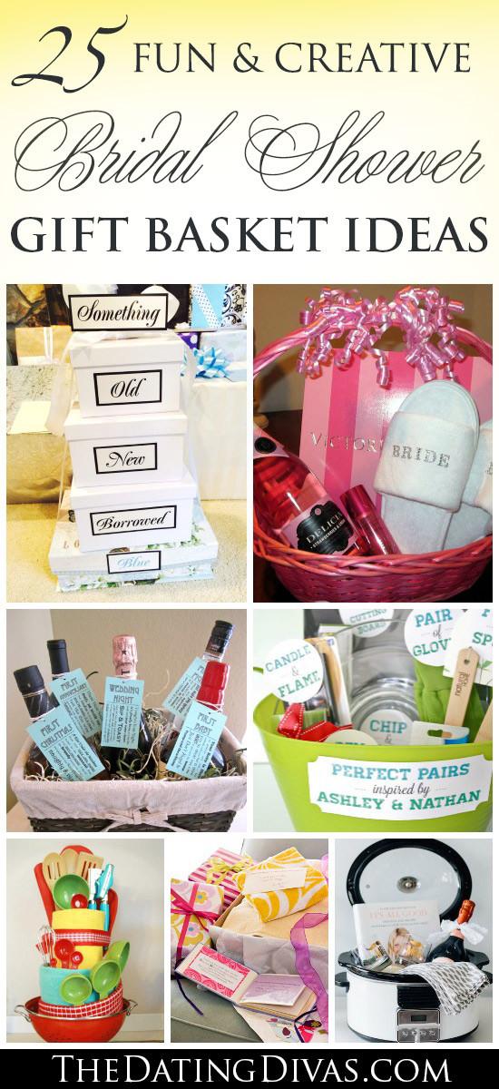 Bridal Gift Basket Ideas  60 BEST Creative Bridal Shower Gift Ideas