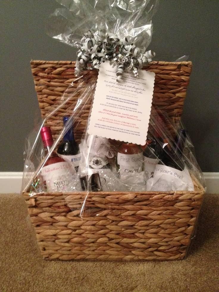 Bridal Gift Basket Ideas  Best Bridal Shower Gift Basket Ideas