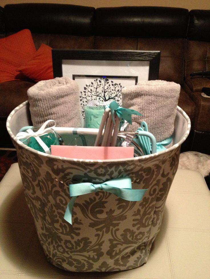 Bridal Gift Basket Ideas  10 Best ideas about Bridal Gift Baskets on Pinterest