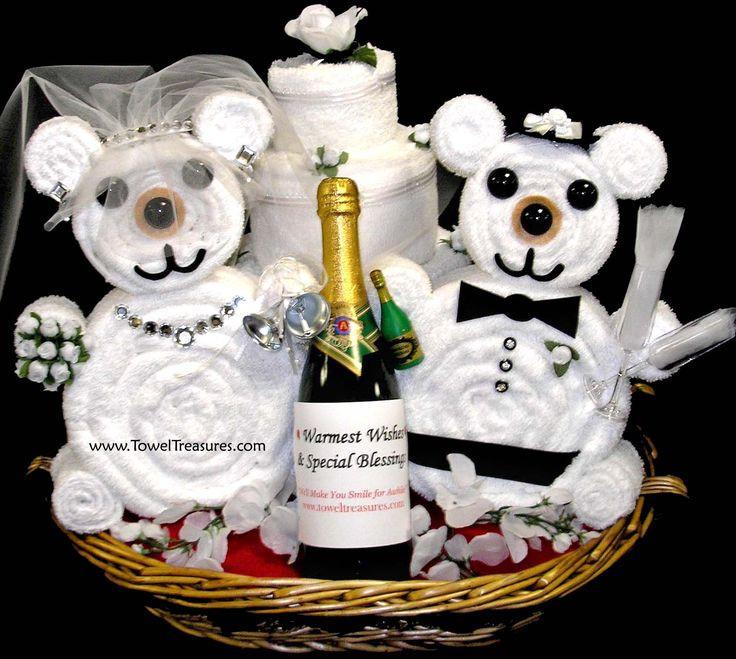 Bridal Gift Basket Ideas  25 best ideas about Wedding Gift Baskets on Pinterest