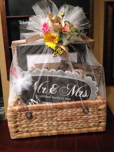 Bridal Gift Basket Ideas  Bridal Shower Gift Ideas