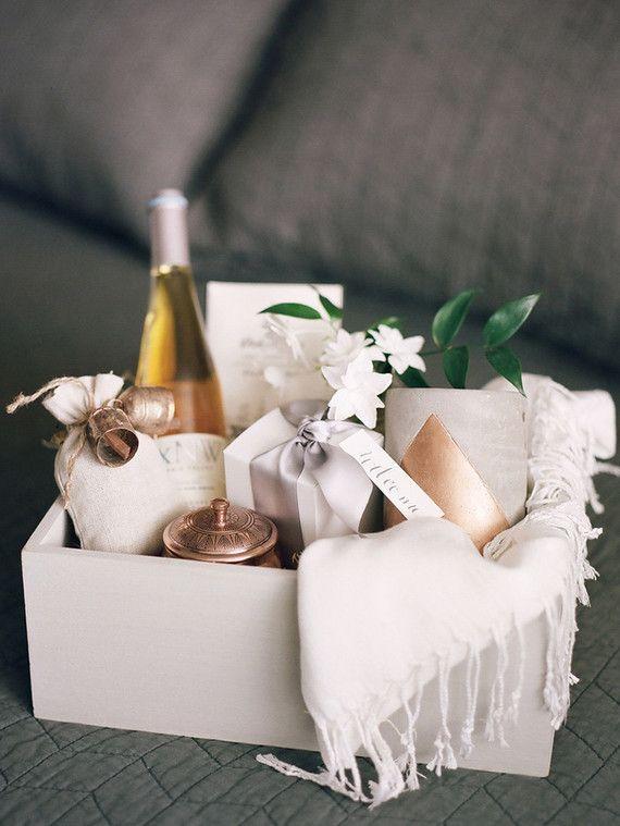 Bridal Gift Basket Ideas  Wedding t basket Bridesmaids Gifts