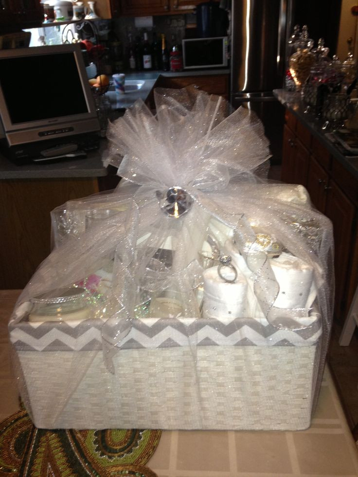 Bridal Gift Basket Ideas  102 best images about Bridal Shower Gift Ideas on