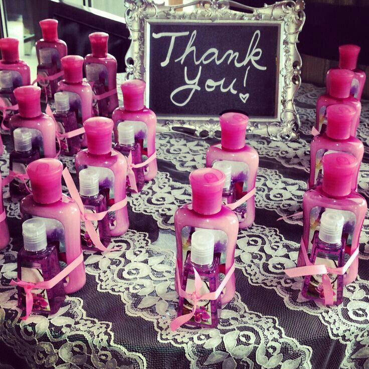 Bridal Shower Thank You Gift Ideas  17 Best images about Despedida de soltera on Pinterest