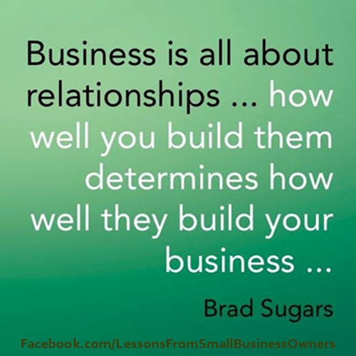 Building Relationships Quote  Quotes about Building business relationships 20 quotes