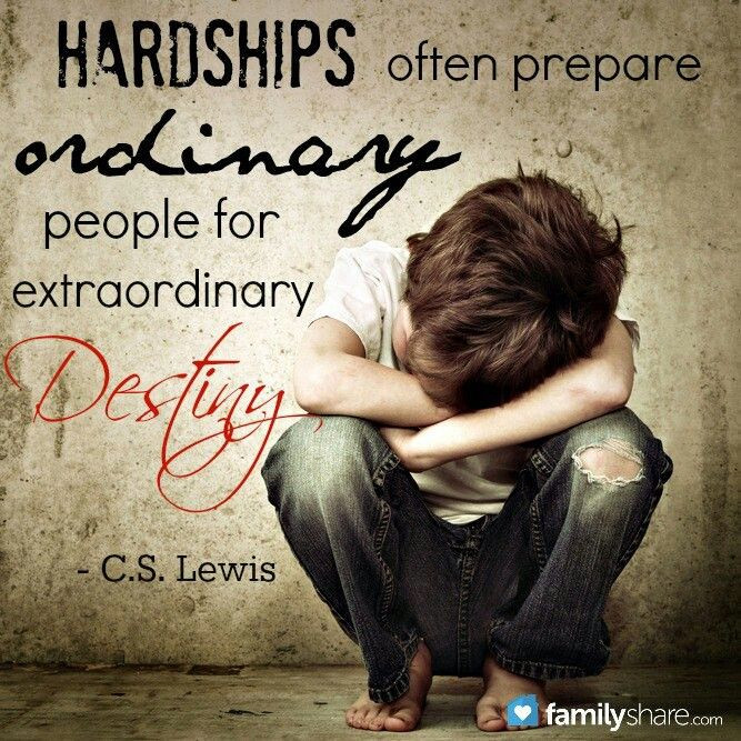 C S Lewis Quotes On Life  C S Lewis quote hardship Inspiring Pinterest