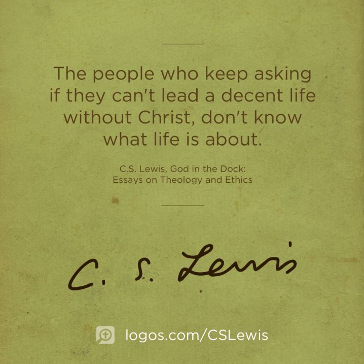 C S Lewis Quotes On Life  9 Inspirational C S Lewis Quotes