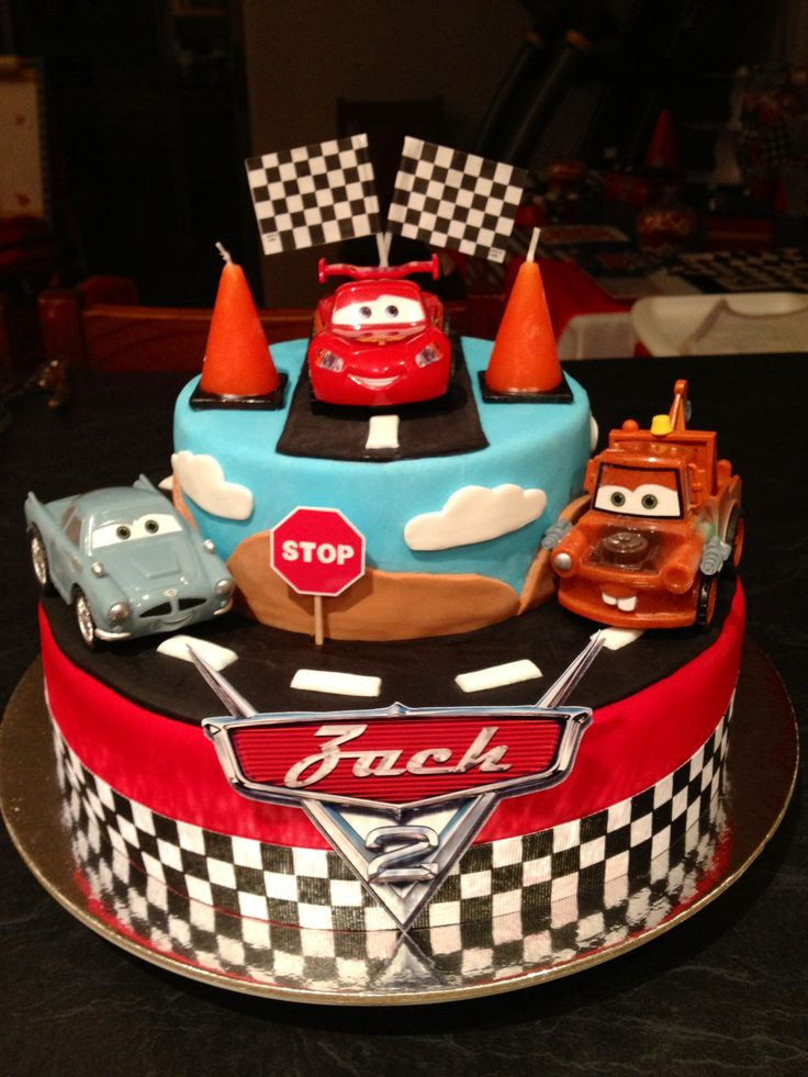 Cars Birthday Cake Ideas  17 Best ideas about Disney Cars Cake on Pinterest