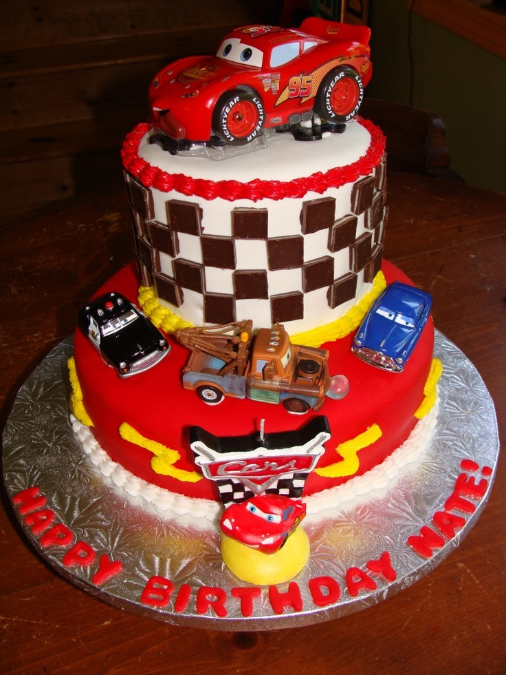 Cars Birthday Cake Ideas  17 Best images about 2nd birthday ideas on Pinterest