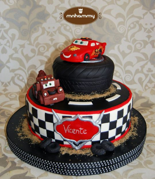 Cars Birthday Cake Ideas  Cars Disney cake codys bday