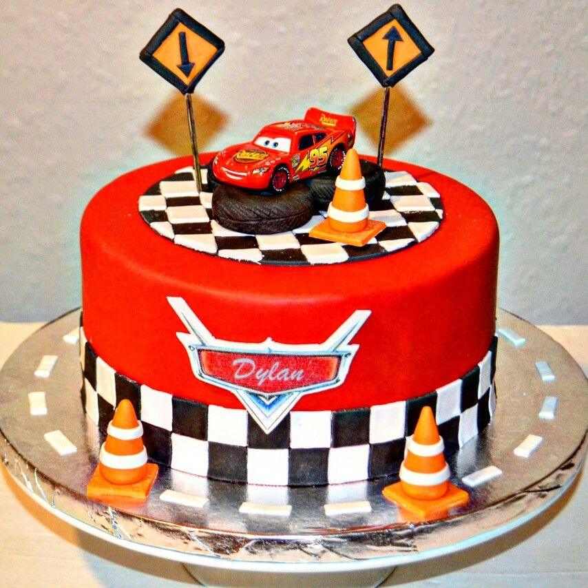 Cars Birthday Cake Ideas  Disney cars lighting McQueen cake … Awandes bdae