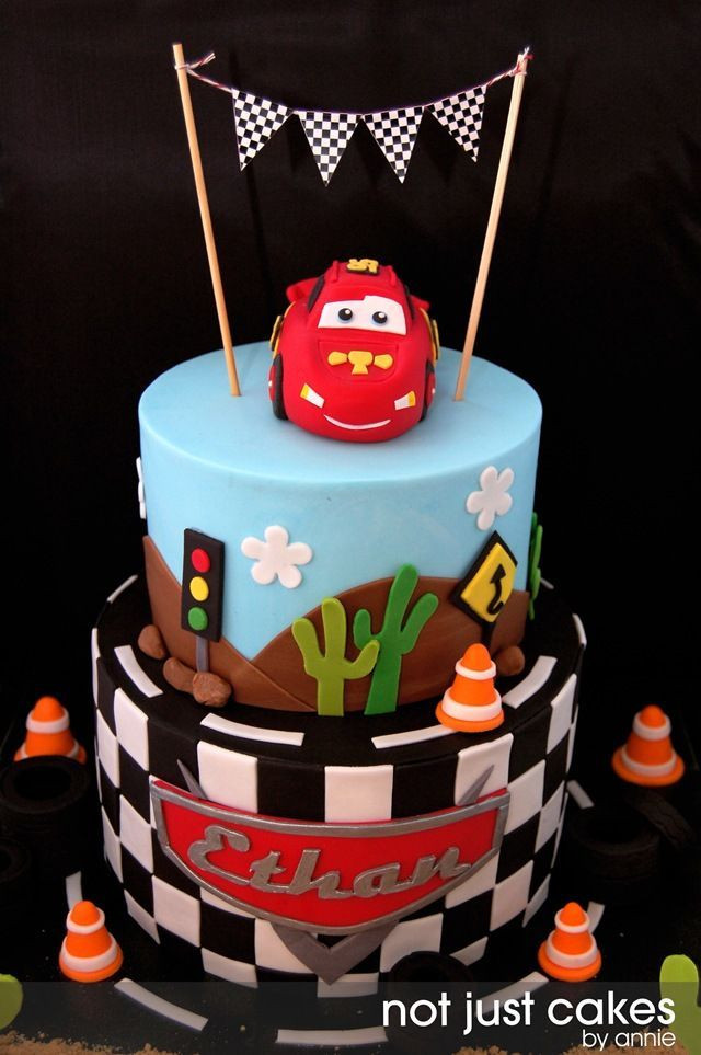 Cars Birthday Cake Ideas  lightning mcqueen and mater cake ideas Google Search