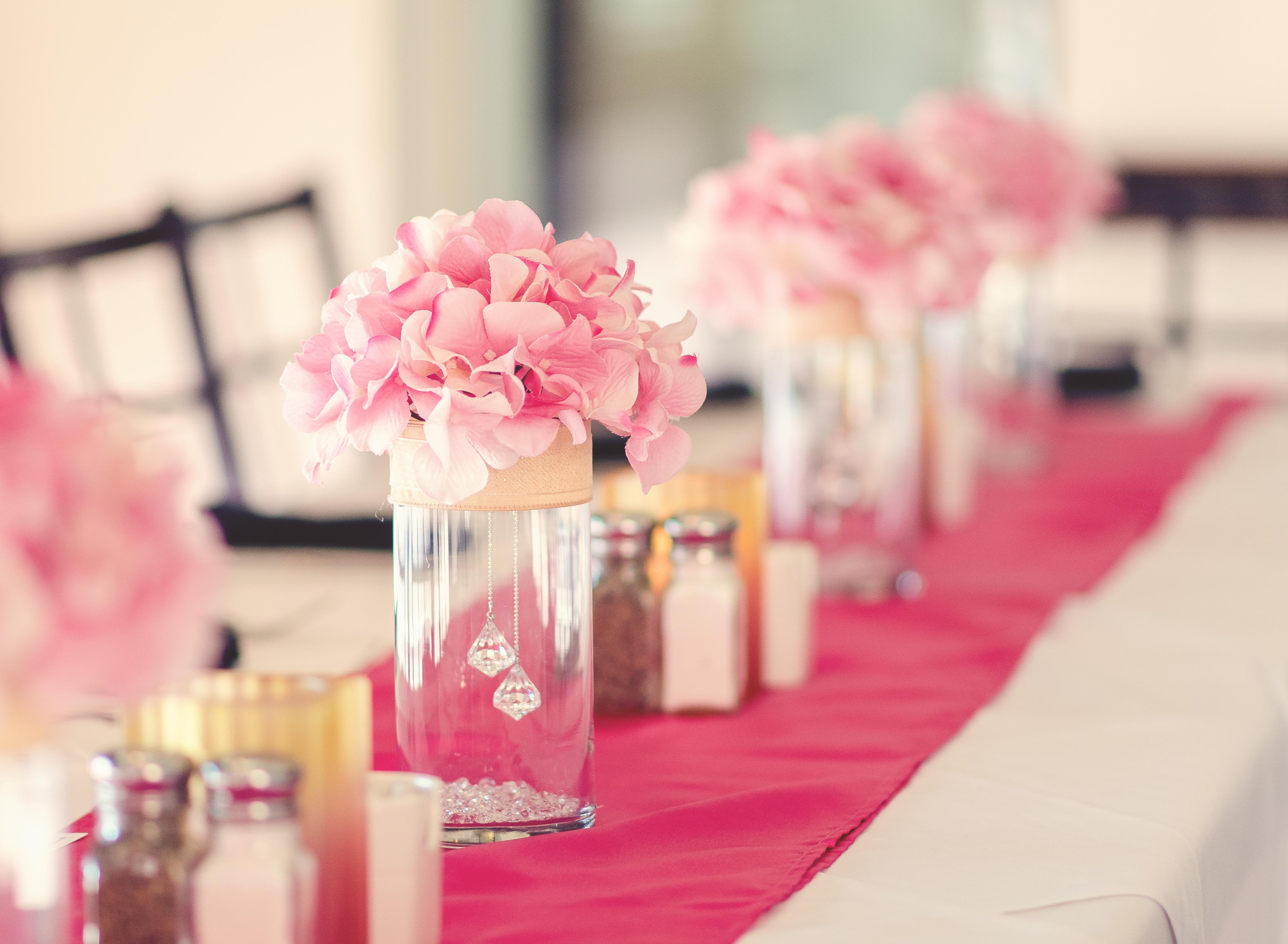 Centerpiece Ideas For Engagement Party  Engagement Dinner Centerpiece whole decorations