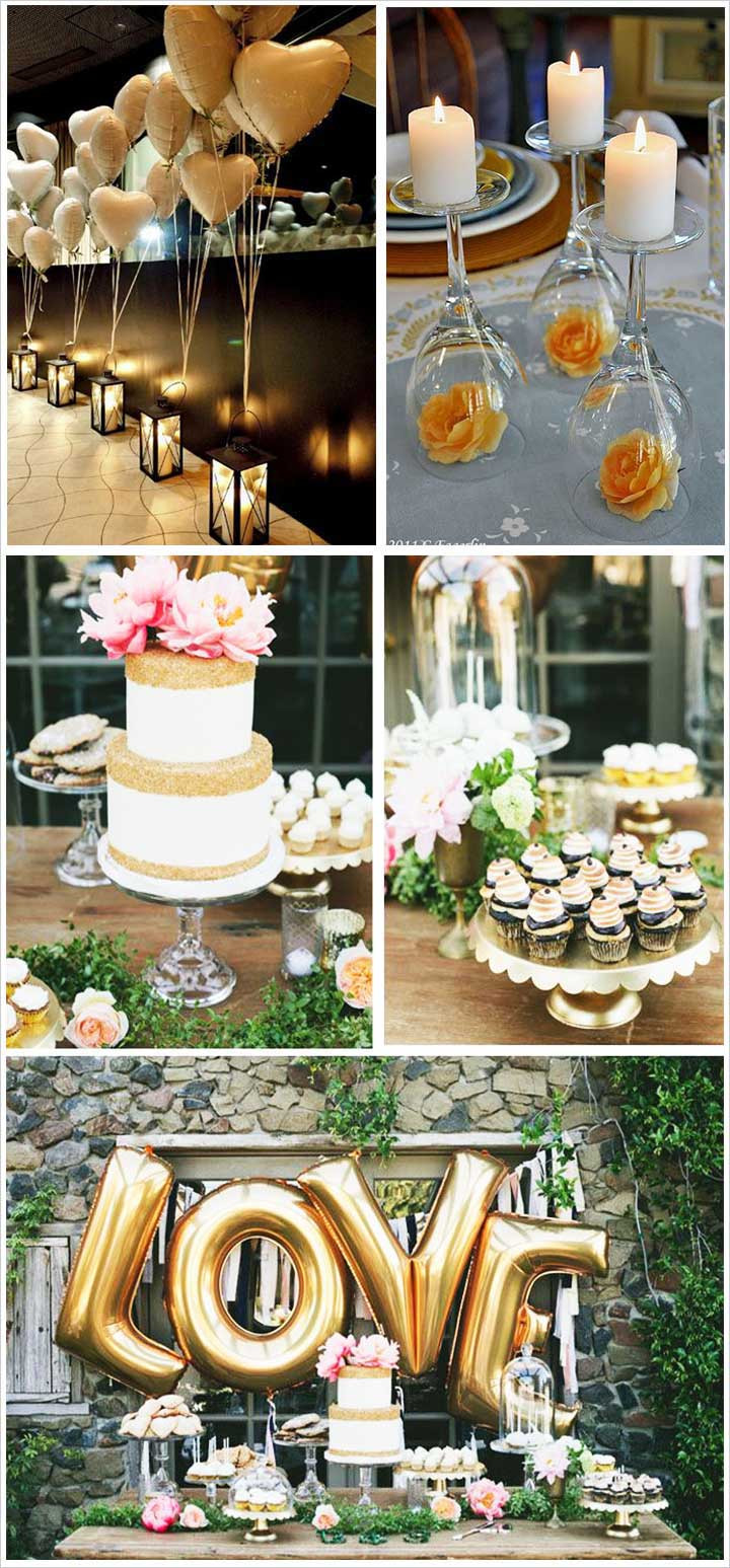 Centerpiece Ideas For Engagement Party  10 Best Engagement party Decoration ideas That Are Oh So