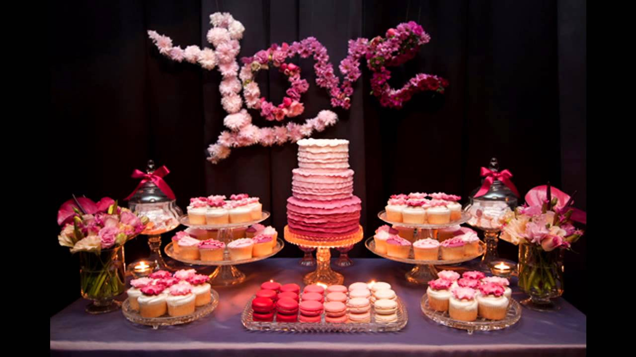 Centerpiece Ideas For Engagement Party  Engagement party themes decorations at home ideas
