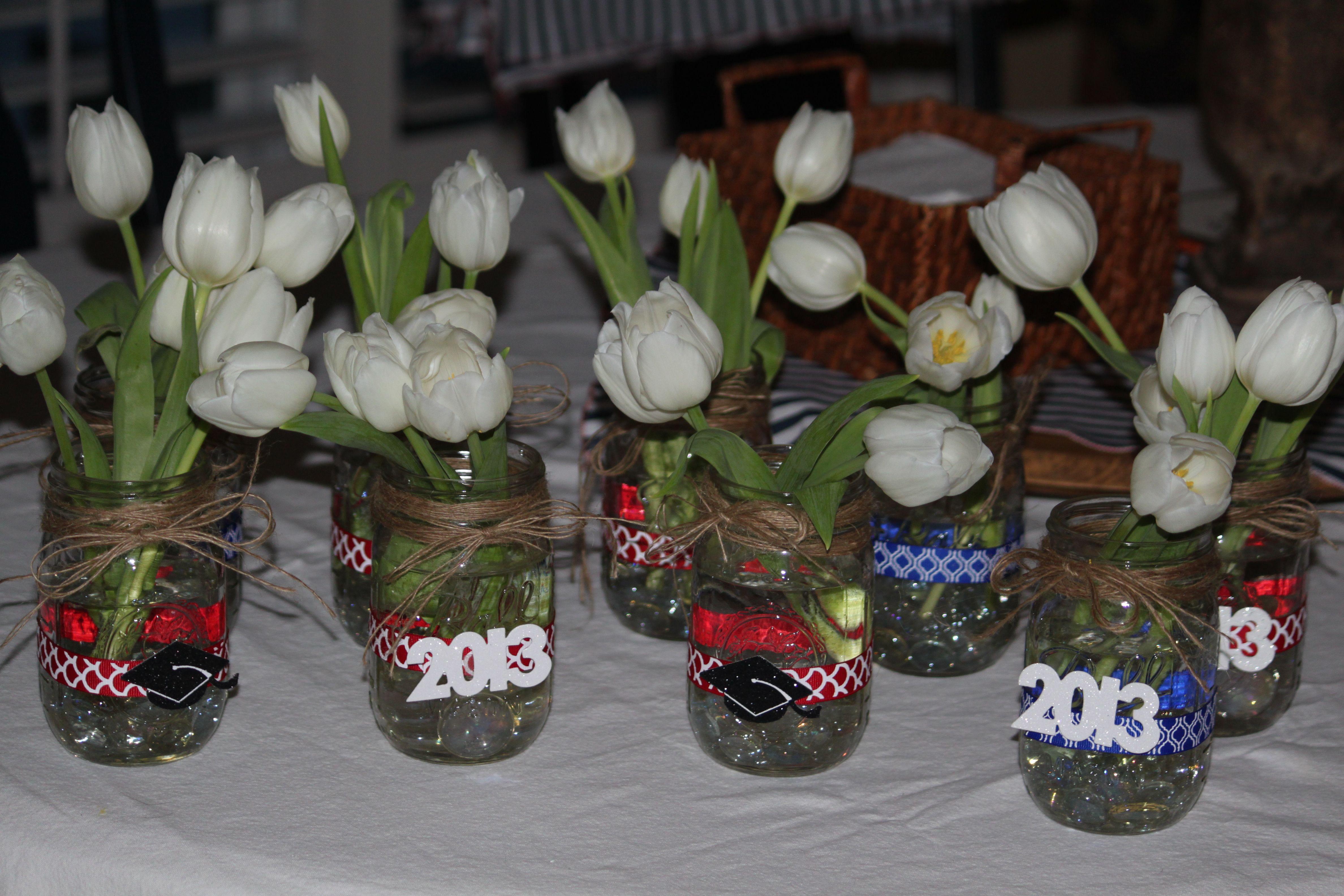 Centerpiece Ideas For Graduation Party  graduation party centerpieces Grad Party