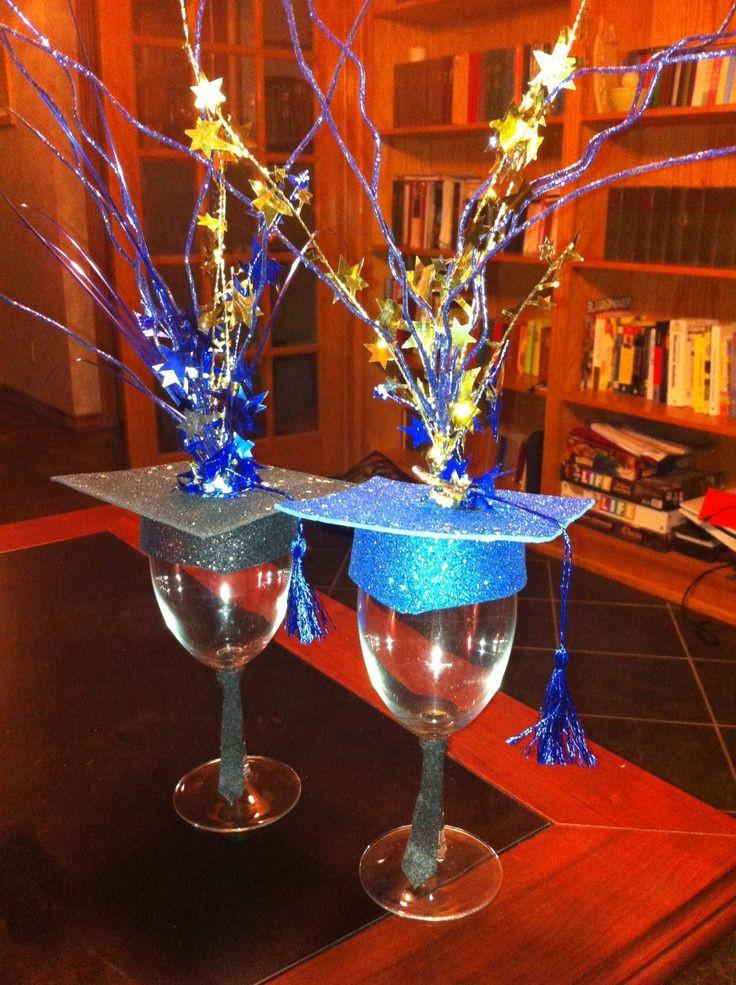 Centerpiece Ideas For Graduation Party  DIY Grad Party Ideas