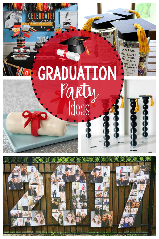 Centerpiece Ideas For Graduation Party  25 Fun Graduation Party Ideas – Fun Squared