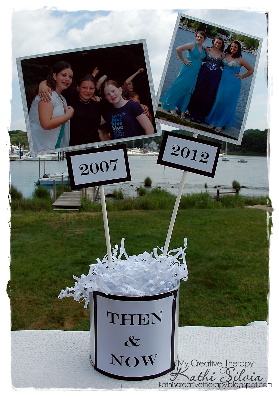 Centerpiece Ideas For Graduation Party  My Creative Therapy Graduation Party and Decorations