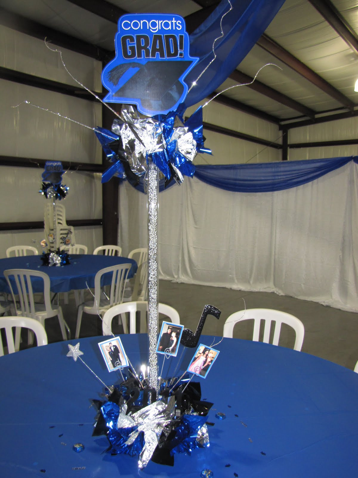 Centerpiece Ideas For Graduation Party  Party People Event Decorating pany April 2012