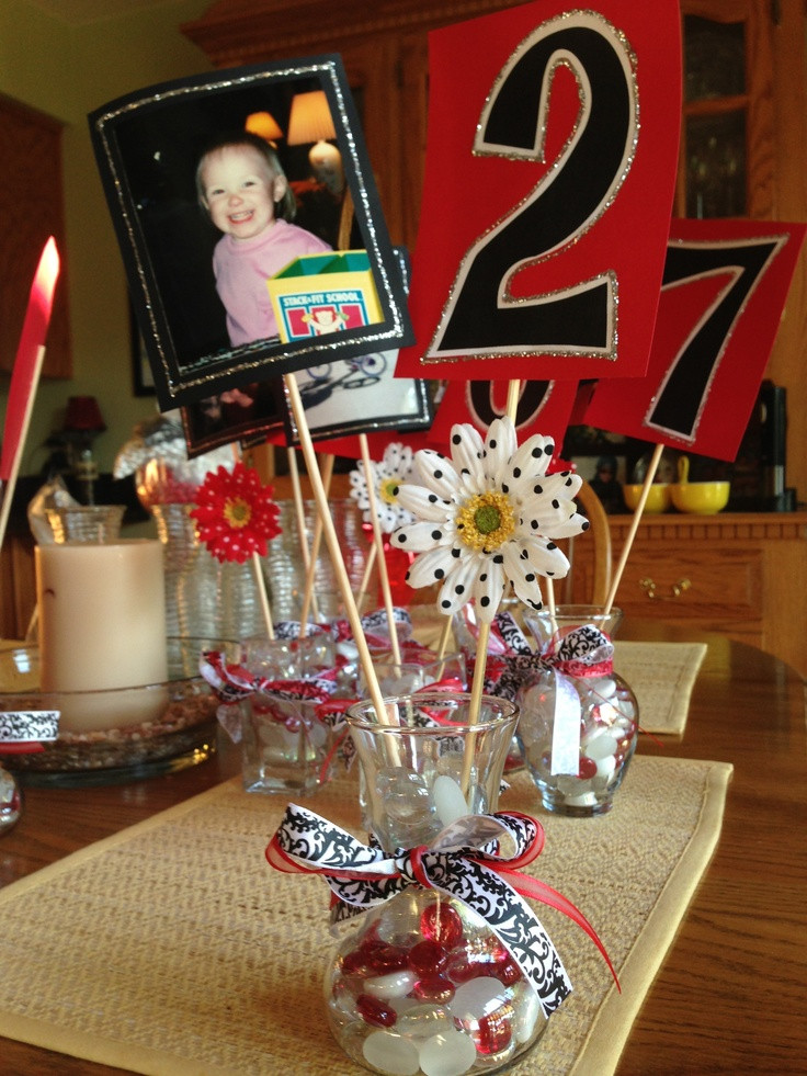 Centerpiece Ideas For Graduation Party  DIY graduation party centerpieces