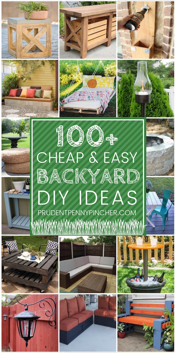 Cheap Backyard Party Ideas  100 Cheap and Easy DIY Backyard Ideas Prudent Penny Pincher