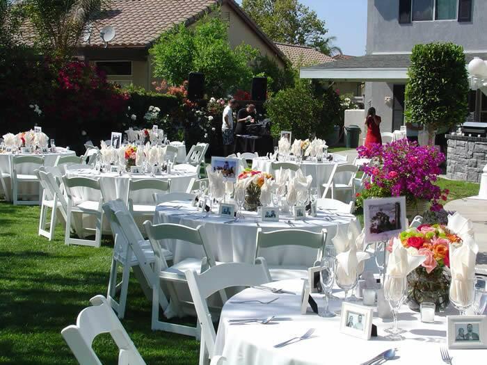 Cheap Backyard Party Ideas  Backyard Wedding Ideas Wedding Ideas