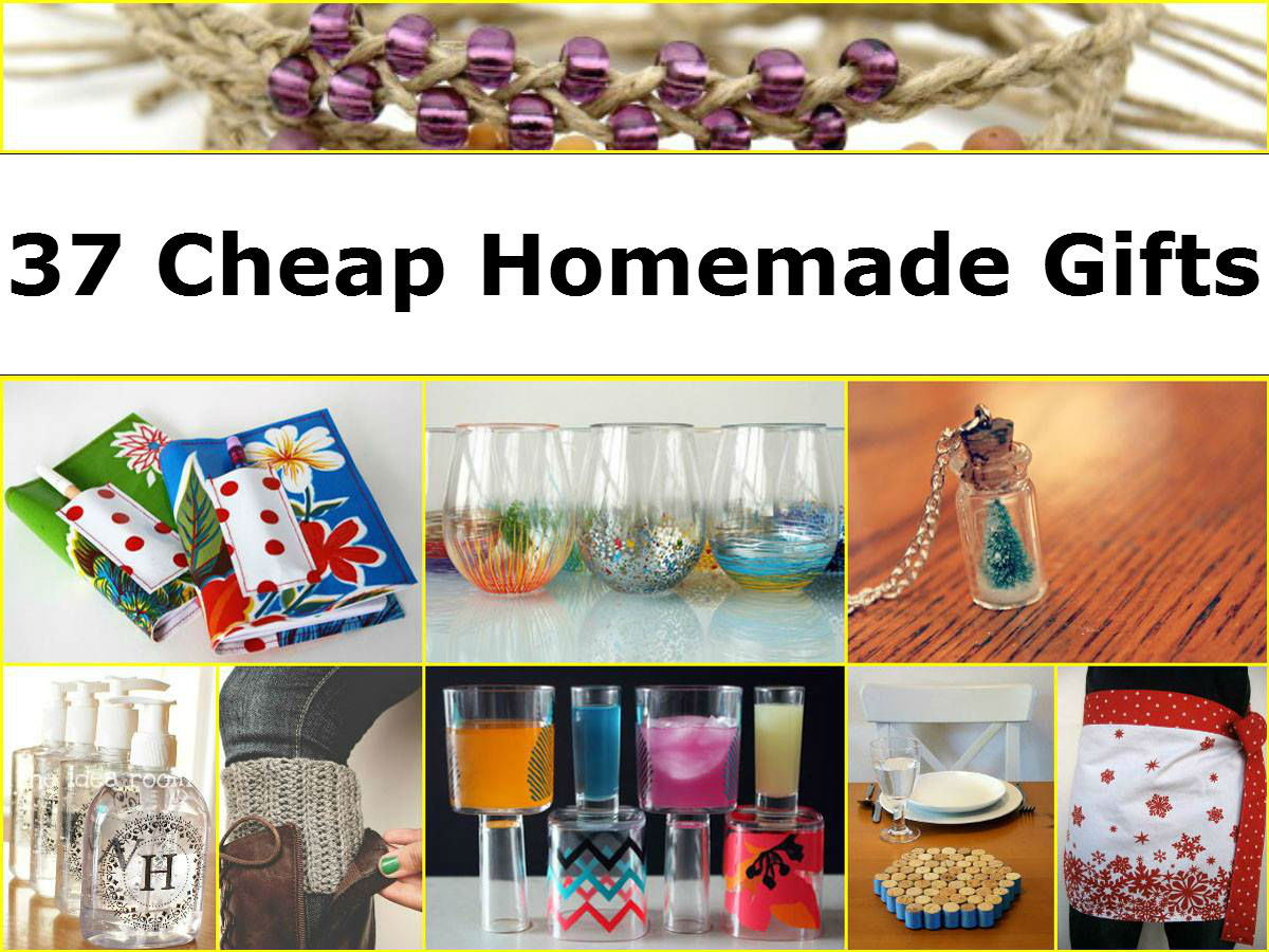 Cheap Christmas Gift Ideas For Couples  37 Cheap Homemade Gifts