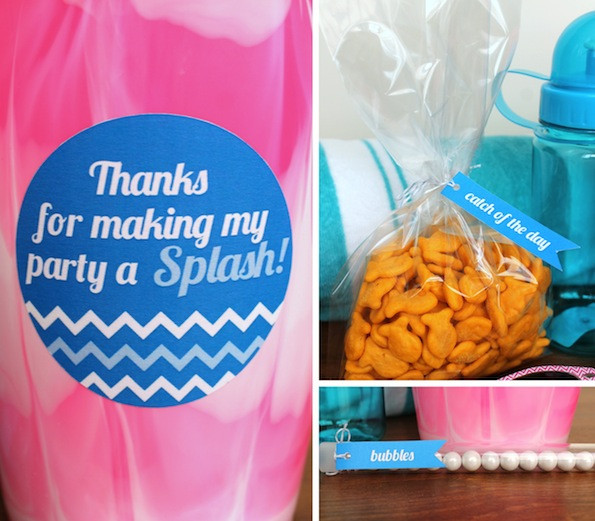 Cheap Pool Party Ideas  Kids Pool Party Favors Evite