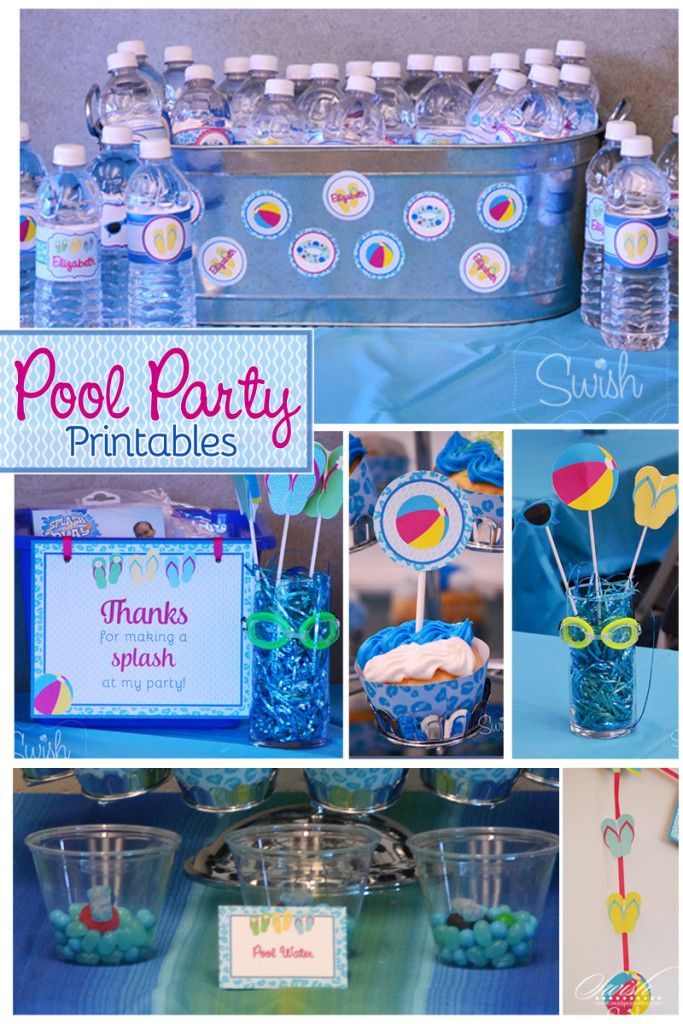 Cheap Pool Party Ideas  Summer Pool Party – Cheetah Tween Pool Party