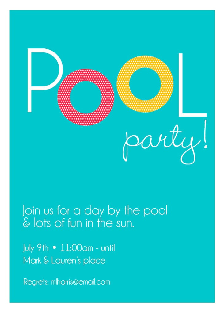 Cheap Pool Party Ideas  Cheap Pool Party Decorations