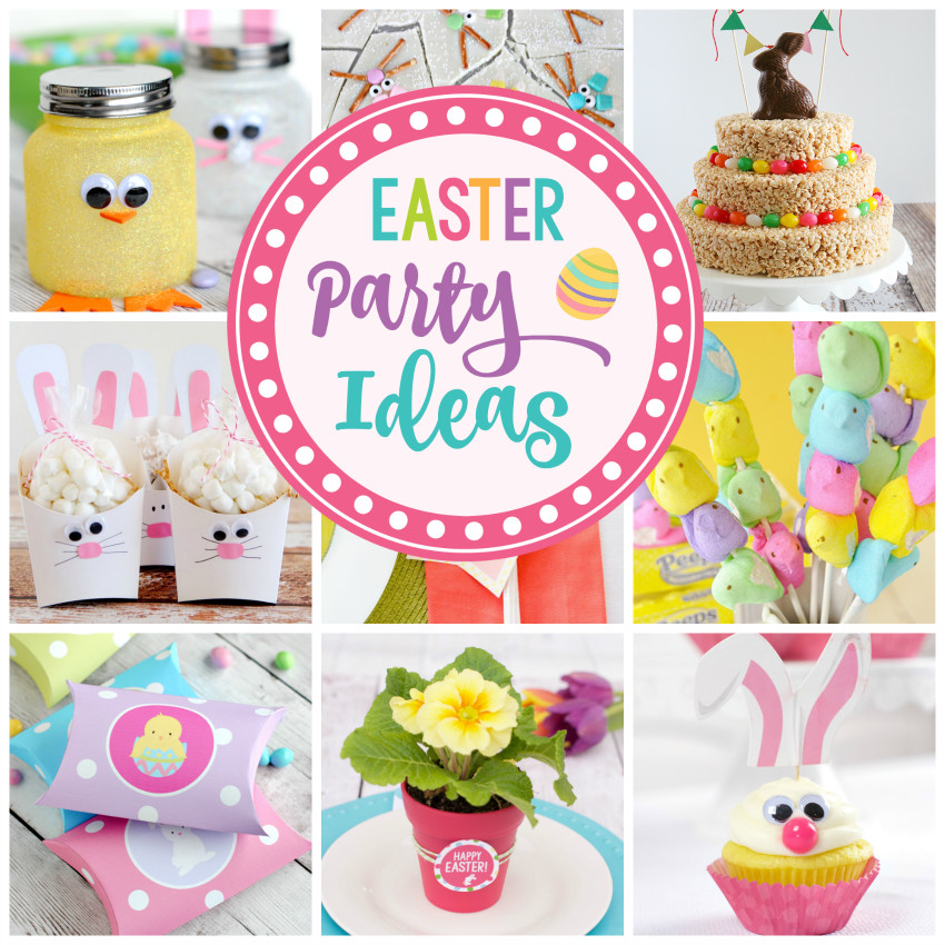 Children'S Easter Party Ideas  25 Fun Easter Party Ideas for Kids – Fun Squared