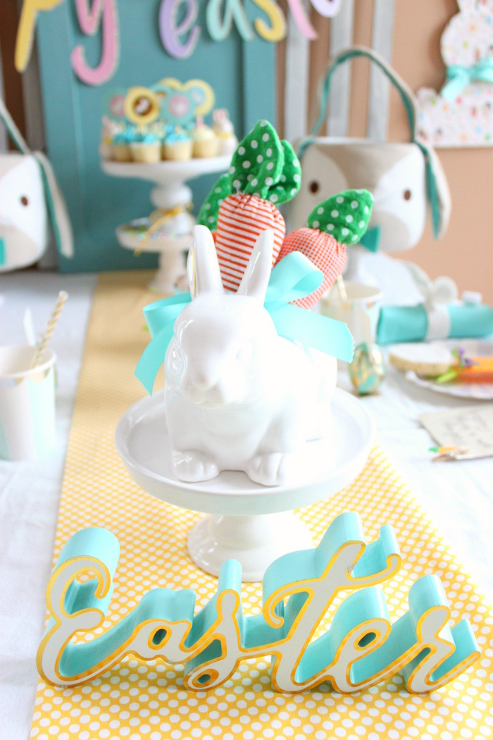 Children'S Easter Party Ideas  Kara s Party Ideas Hoppy Easter Party for Kids