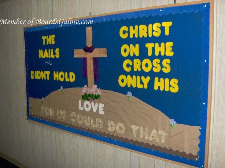 Christian School Easter Party Ideas  Image result for Christian Easter Bulletin Board Ideas