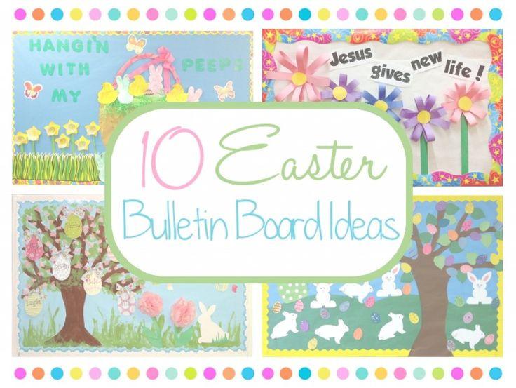 Christian School Easter Party Ideas  Best 25 Easter bulletin boards ideas on Pinterest